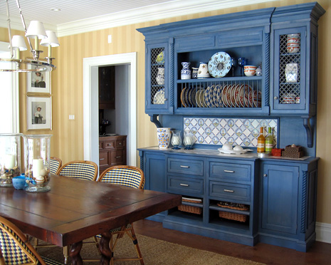 1000 images about 33rd st manhattan beach renovation on for Blue kitchen cabinets with yellow walls