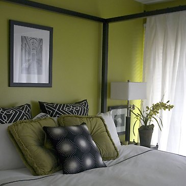 Go gray - Green and grey room ideas ...
