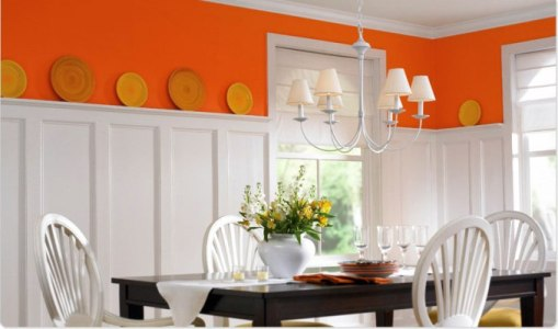 dining-room-with-orange-accent3