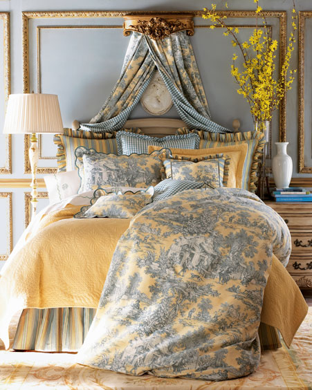 am just crazy about toile