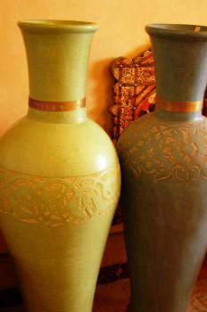 Moroccan vases