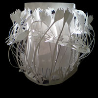 Store review ecocentric online interior decor store tchochkes recycled paper cut out lampshades the lampshade aloadofball Choice Image