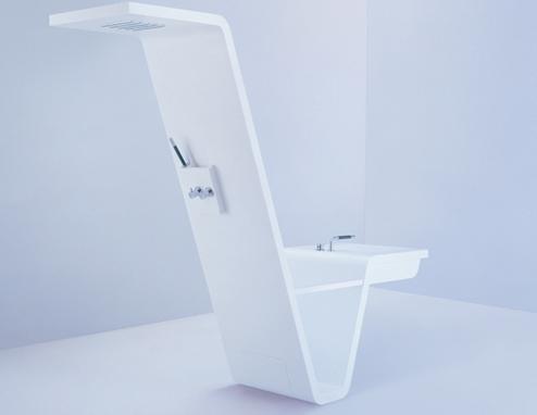 shower basin