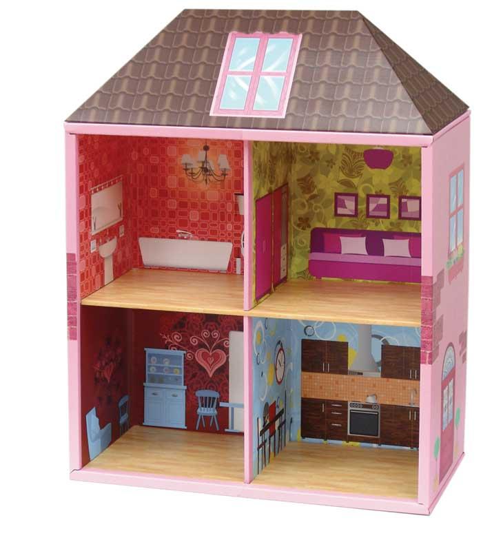 Кукольный домик домики сделать своими руками 28