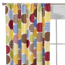 Although Technically Designed For A Kids Room The Dot Fun Curtains By DwellStudio Target Would Be So In Kitchen Or Bath And Instantly