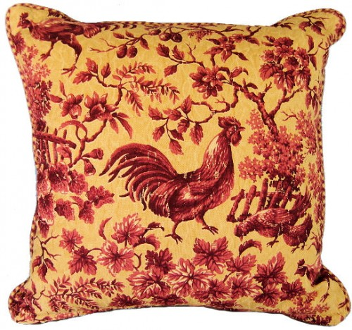 French Country Pair of Pillows