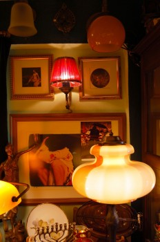 Lampshades and pictures