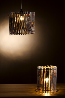 Newslight standing and hanging lampshades