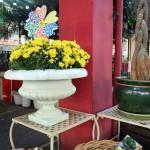 Roman style vase