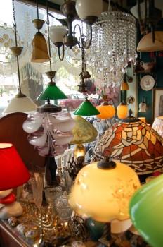 Sea of lampshades