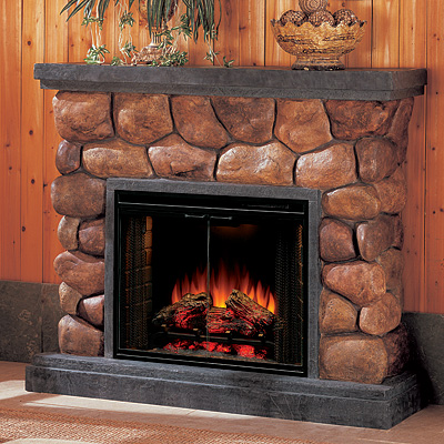Amish_Stone_Fireplace - Amish Heating Solutions - Amish Fireplace Heaters Jamesbit Design