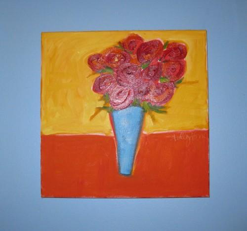 Ashley Saer painting