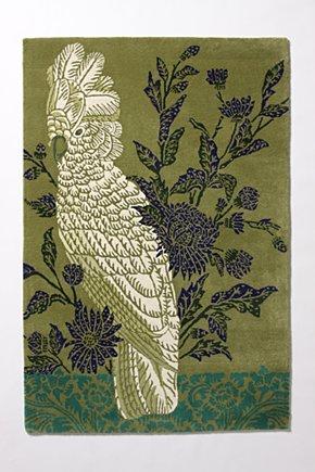 Anthropologie bird rug